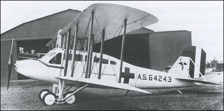 Curtiss Eagle ambulance