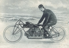 Curtiss Motorcycle at the Smithsonian Institute