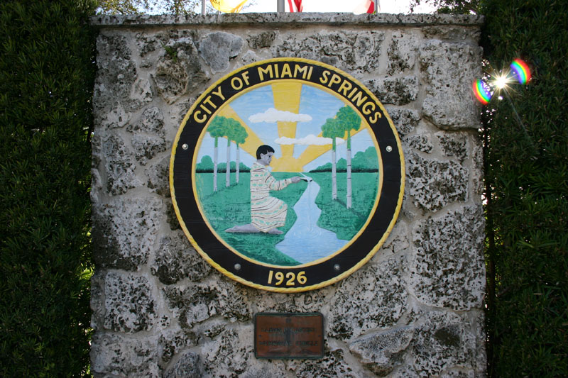 Miami Springs sign
